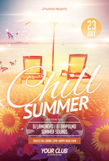 Chill Summer Flyer Template