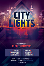 City Light Flyer Template