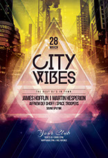 City Vibes Party Flyer
