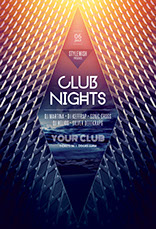 Club Limits Party Flyer Template