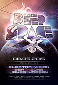 Deep Space Flyer Template