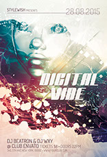 Digital Vibe Flyer Template
