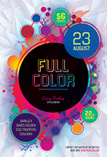 Full Color Party Flyer