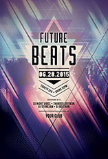 Future Beats Party Flyer