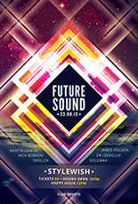 Future Sound Party Flyer