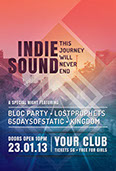 Indie Sound Music Flyer