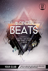 Modern Beats Flyer Template