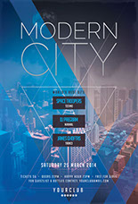 Modern City Party Flyer