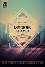 Modenr Shapes Flyer Template