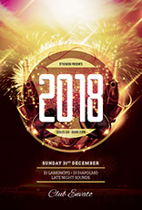 New Year Bash Flyer Template