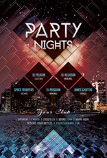 Party Nights Flyer Template
