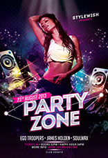 Party Zone Flyer Template