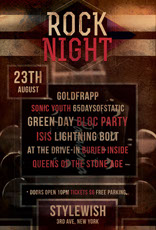 Rock Night Music Flyer