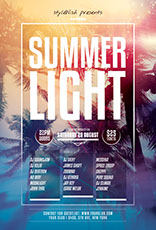 Summer Light Flyer Template