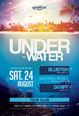 Underwater Flyer Template