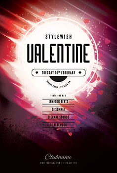 Valentine Flyer Template