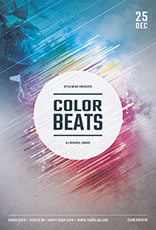 Color Beats Poster Design