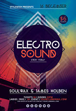 Electro Sound Party Flyer