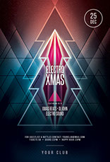 Merry Xmas Party Flyer Template
