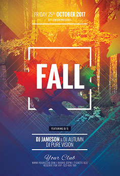 Charming ... Fall Flyer Template