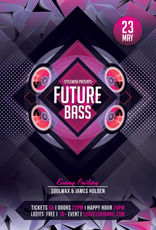 Future Bass Party Flyer