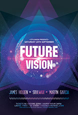 Future Vision Party Flyer
