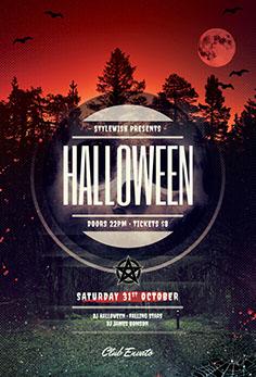 Halloween Flyer Templates - PSD Design