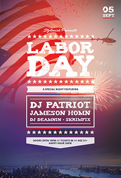 Labor Day Flyer Template ...