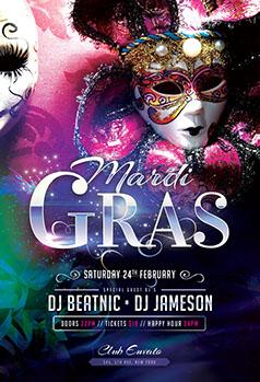 Mardi gras carnival flyer templates psd design mardi gras carnival flyer template mardi gras flyer template saigontimesfo