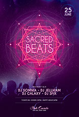 Sacred Vibes Flyer Template