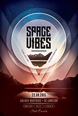 Space Vibes Flyer Template