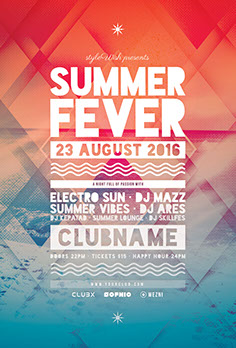 Summer Fever Party Flyer