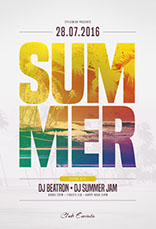 Summer flyer templates psd design summer flyer template saigontimesfo