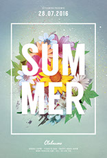 Summer Flyer Template