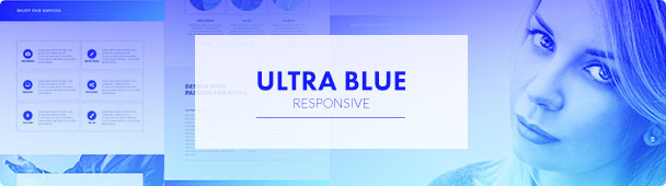 Ultra Blue Muse Template